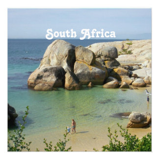 Costa surafricana invitaciones personalizada