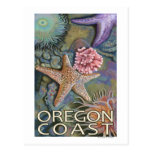 Costa Tidepool de Oregon Postal