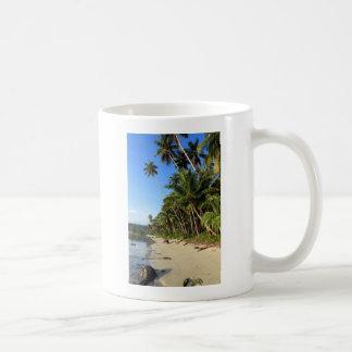 Costa tropical franjada palma del paraíso taza clásica