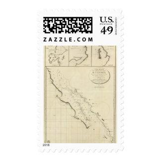 Costas de California Sellos