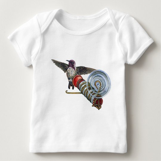Costas Hummingbird at the Bird Feeder Baby T-Shirt