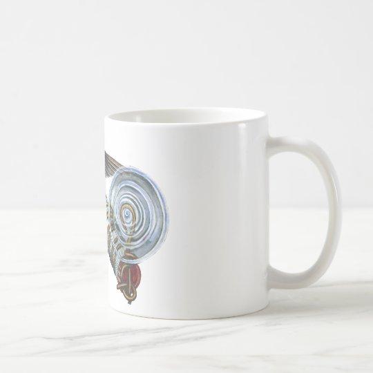 Costas Hummingbird at the Bird Feeder Coffee Mug