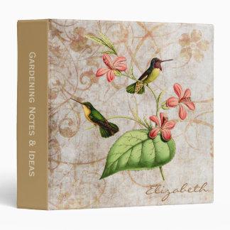 Costa's Hummingbird Binder