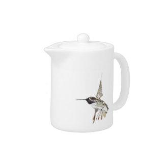 Costa's Hummingbird Teapot
