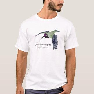 Costa's Hummingbird with Name T-Shirt