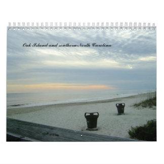 Costas meridionales del calendario del NC