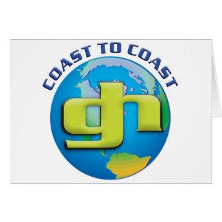 Costear/GHPG.net de la costa Tarjeta De Felicitación