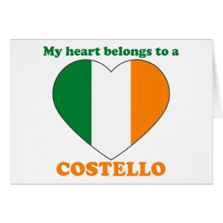 Costello Greeting Card