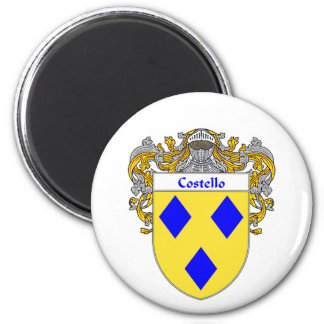 Costello Coat of Arms (Mantled) Magnet
