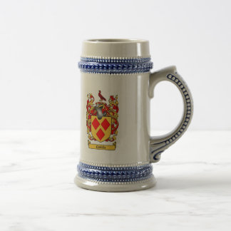 COSTELLO FAMILY CREST -  COSTELLO COAT OF ARMS BEER STEIN