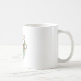 Costes de la belleza taza básica blanca