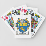 Costigan Family Crest Bicycle Poker Cards