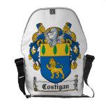 Costigan Family Crest Messenger Bags