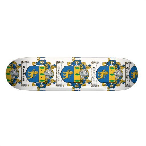 Costigan Family Crest Skateboard Deck
