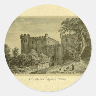 Costigliole d'Asti , Piedmont, Italy Classic Round Sticker