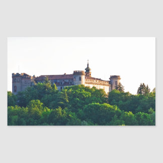 Costilgiole d'Asti, Piedmont, Italy Rectangular Sticker