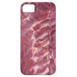 Costillas de cerdo iPhone 5 protectores