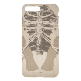 Costillas retras de la mujer del vintage fundas para iPhone 7 plus