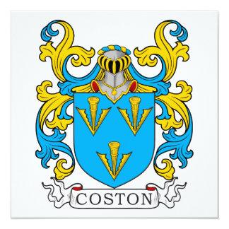 Coston Family Crest Card
