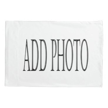 RenderlyyoursLIFE Costume add your own photo pillowcase