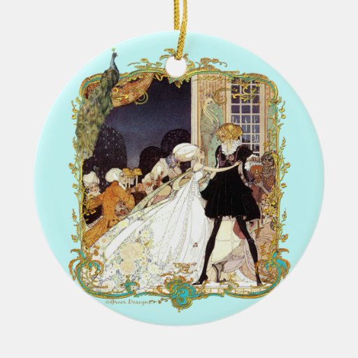 Costume Ball 18th Century Christmas Ornament