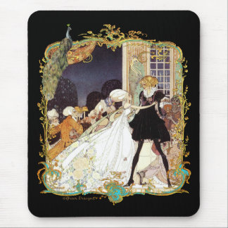 Costume Ball Vintage Style Art Design Mouse Pad