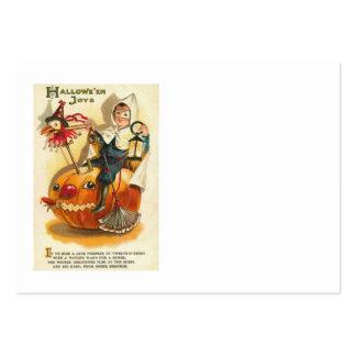 Costume Boy Jack O' Lantern Pumpkin Apple Large Business Cards (Pack Of 100)