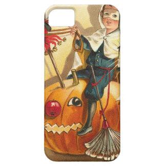 Costume Boy Jack O' Lantern Pumpkin Apple iPhone SE/5/5s Case