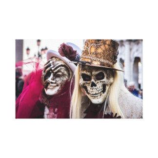 Costume carnival canvas
