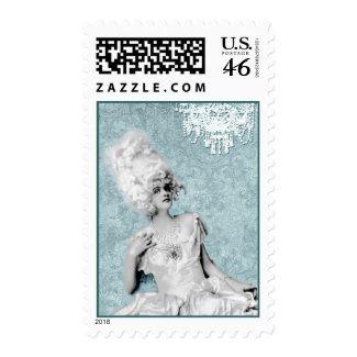 Costume Chandelier Postage Stamps stamp