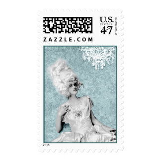 Costume Chandelier Postage Stamps