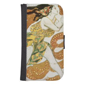 Costume design for a bacchante in 'Narcisse' 2 Phone Wallet