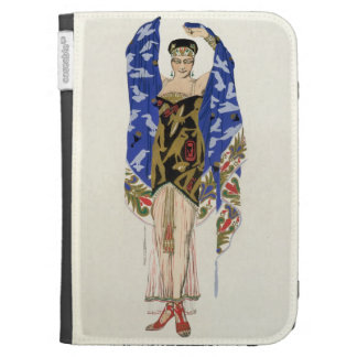 Costume design for a Dancing Girl (colour litho) Kindle Keyboard Case