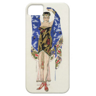 Costume design for a Dancing Girl (colour litho) iPhone SE/5/5s Case