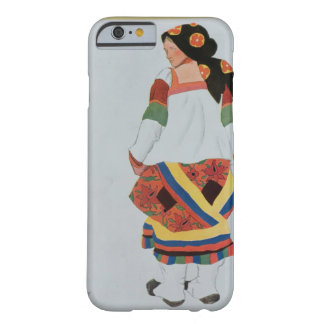 Costume design for a Peasant Girl, 1922 (colour li Barely There iPhone 6 Case