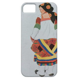 Costume design for a Peasant Girl, 1922 (colour li iPhone SE/5/5s Case