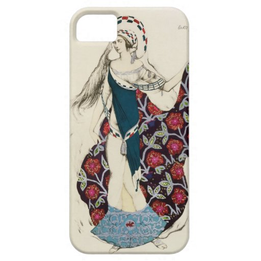 Costume design for a woman, from Judith, 1922 (col iPhone 5 Cases
