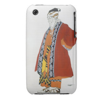 Costume design for an old man in a red coat (colou Case-Mate iPhone 3 case