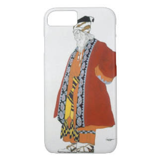 Costume design for an old man in a red coat (colou iPhone 7 case