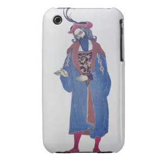 Costume design for Blue-Beard, from Sleeping Beaut Case-Mate iPhone 3 Case