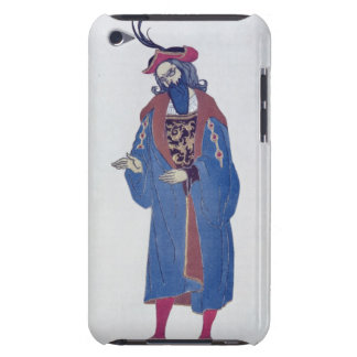 Costume design for Blue-Beard, from Sleeping Beaut iPod Touch Cover