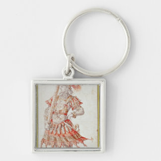 Costume design for Carousel, c.1662 Keychain
