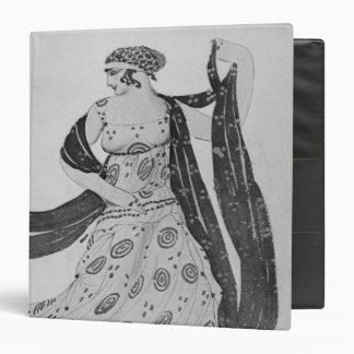 Costume design for 'Cleopatra', 1910 3 Ring Binder