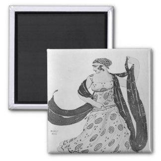Costume design for 'Cleopatra', 1910 Magnet