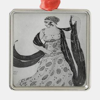 Costume design for 'Cleopatra', 1910 Metal Ornament