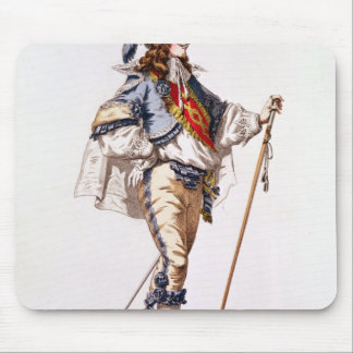 Costume design for 'Don Juan' by Moliere Mouse Pad
