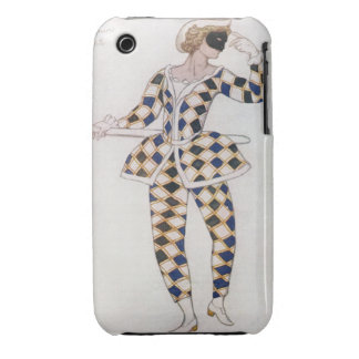 Costume design for Harlequin, from Sleeping Beauty Case-Mate iPhone 3 Cases
