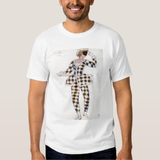 Costume design for Harlequin, from Sleeping Beauty Tee Shirt