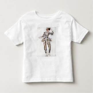 Costume design for Harlequin, from Sleeping Beauty Toddler T-shirt