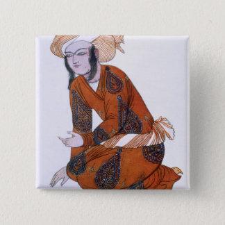Costume design for L'Adoration de Tcherepnine, 192 Button